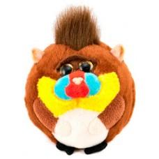 """Говорящая игрушка """"Обезьянка шарик"""" (коричневая)"""