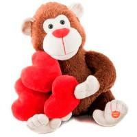 """Поющая игрушка """"Влюбленный Бабуин"""""""